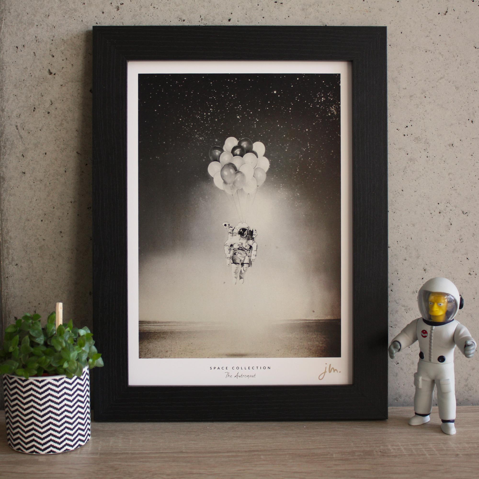 Affiche Fine Art The Astronaut - Edition Silver