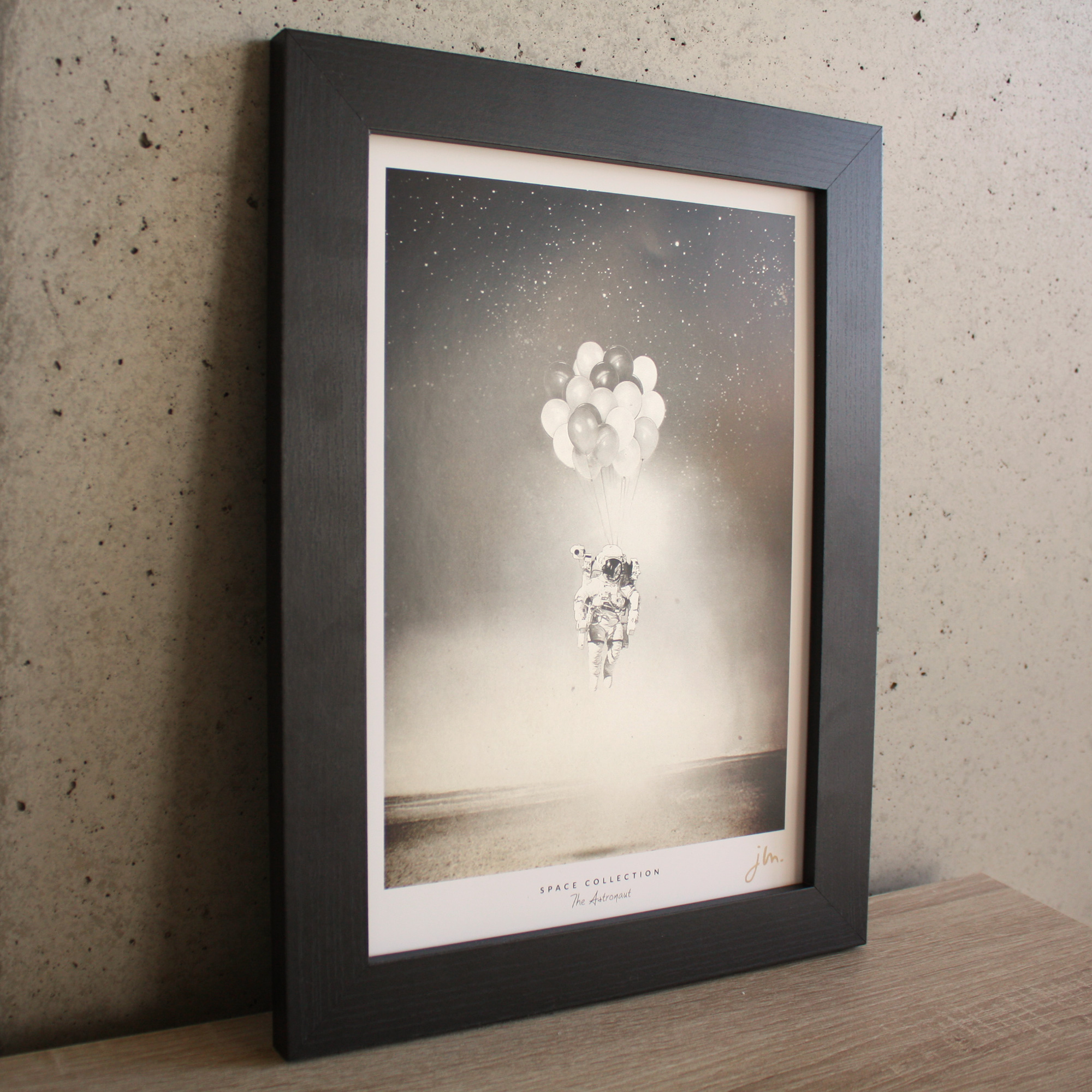 Affiche Fine Art The Astronaut - Edition Silver