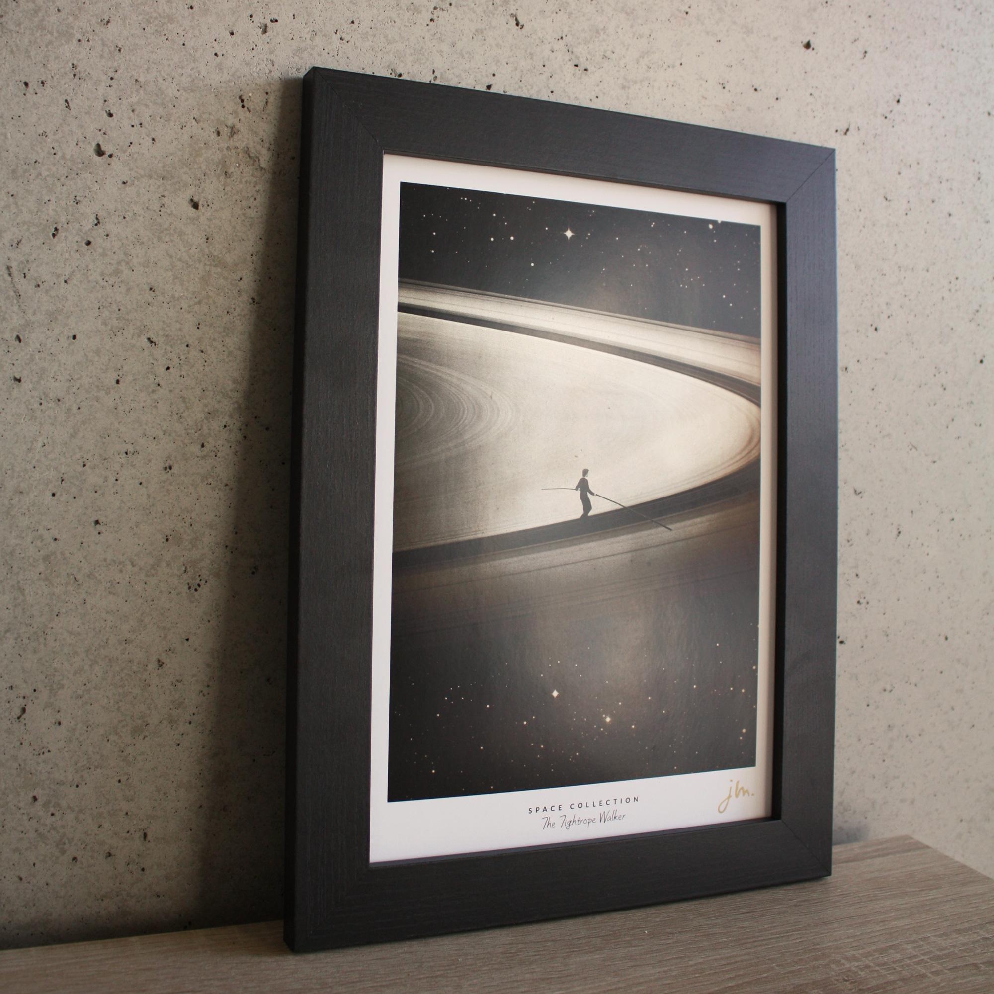 Affiche Fine Art The Tightrope Walker - Edition Silver