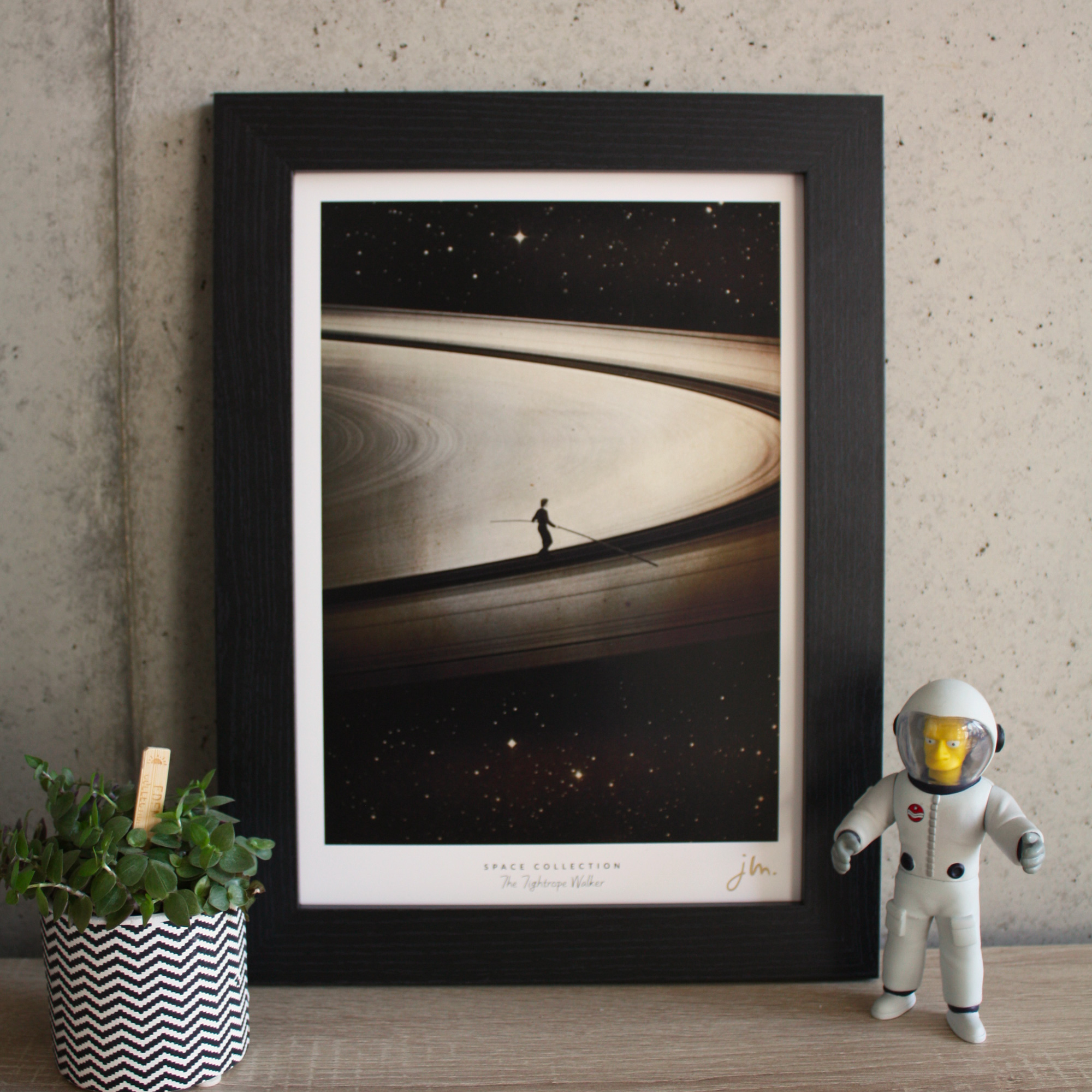 Affiche Fine Art The Tightrope Walker - Edition Silver