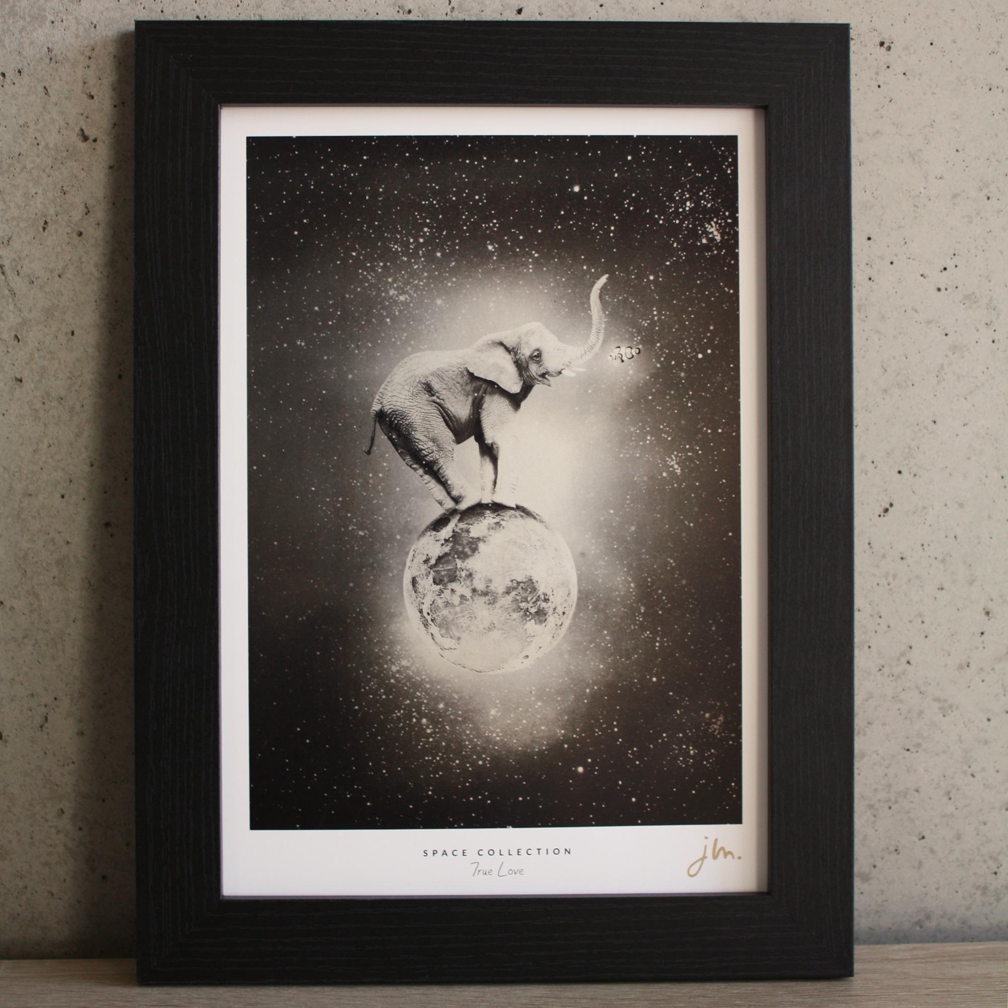 Affiche Fine Art True Love - Edition Silver